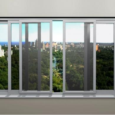 Рамочные противомоскитные сетки на раздвижные балконные рамы