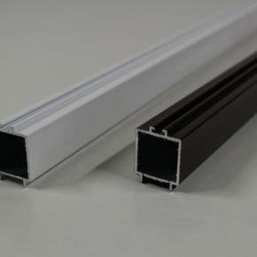 Профиль магнитной планки плиссе (экструдированный алюминий)