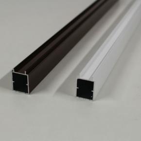 Профиль пружинной планки плиссе (экструдированный алюминий)