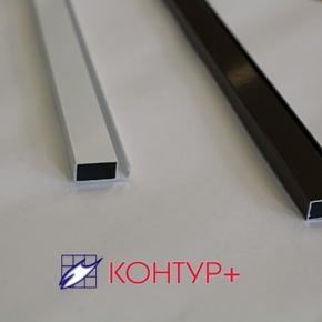 Рамный профиль 24х10 мм (Экструдированный алюминий)